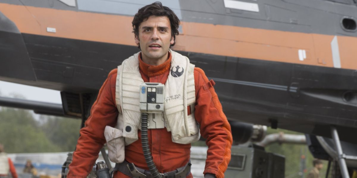 Star Wars: The Last Jedi gives Poe Dameron the pilot's biggest challenge yet, says Oscar Isaac